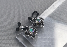 Celtic Labyrinth Chainmaille Eyeglass charms Paradise shine